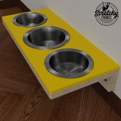 Wally Feeder Cat Feeder Pet bowl stand Feeding stand #cat #dog #bowls #pets