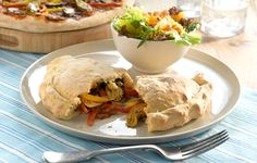 Slow Roasted Vegetable Calzone