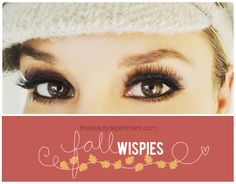Tutorial for using wispies false lashes. Also great as a make up tutorial without the false lashes
