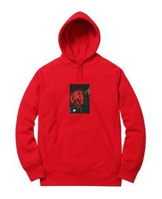 Araki for Supreme  Rose Hooded Sweatshirt