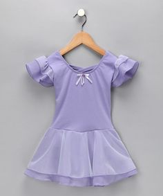 Take a look at this Lilac Sophia Skirted Leotard - Toddler & Girls by Eurotard on #zulily today!
