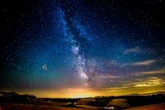 Milky way over Biei hills by Hidetoshi Kikuchi on 500px
