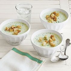 Chilled Cucumber Soup  http://www.countryliving.com/recipefinder/chilled-cucumber-soup-recipe-clv0813