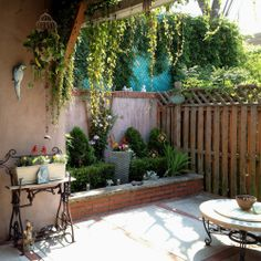 Magic in Small Spaces! Mary Lou posted her patio on our FB page...