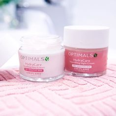 The new Optimals Hydra for dry/sensitive skin calms thirsty skin with 24-hour hydration. #OptimalSkin #Oriflame #Optimals #Skincare