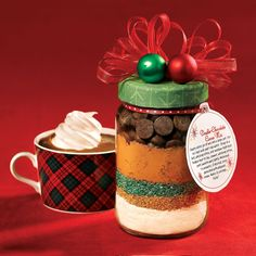 From our Celebrate! winter issue: Print the label for our Double-Chocolate Cocoa Mix