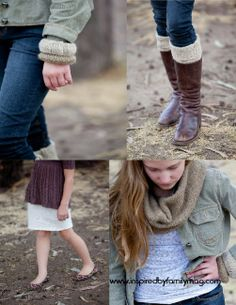 Repurposed Sweater Ideas Bracelet, legging, skirt and scarf Tut on scarf