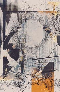Love Drawing and Design? Finding A Career In Architecture - Drawing On Demand Modern Art, Contemporary Art, Architecture Drawings, Layered Architecture, Architecture Journal, Architecture Graphics, Illustration, Wow Art, Collage Art