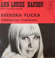 Svenska flicka. Melodifestivalen 1969