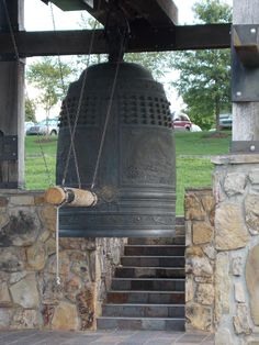 In 1945, Oak Ridge, Tennessee and Hiroshima and Nagasaki, Japan became connected in a way too horrible to previously imagine. Today, this temple bell hangs in Oak Ridge in the hope that it will never happen again.