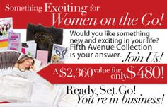 Amazing offer to start your own business! Fifth Avenue Collection, Starting Your Own Business, Party Ideas, Amazing, Fete Ideas, Ideas Party