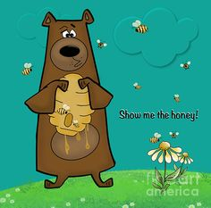 http://fineartamerica.com/featured/honey-drippings-tami-dalton.html This would be adorable on a nursery wall! I'm working on a series of children's illustration art for this months gallery. Let me know what you think!