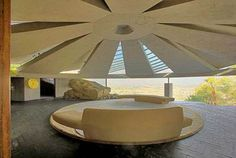 """Lautner's Elrod house, built in 1968, was featured in the James Bond classic """"Diamonds are Forever."""""""