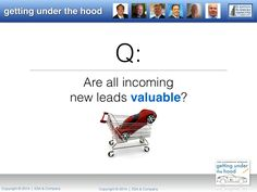 """Are all incoming leads truly valuable? Tune-in to ESA's Automotive Webinar, """"Getting Under the Hood.""""  October 24, 2014."""