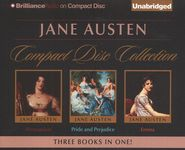 Jane Austen Unabridged CD Collection: Pride and Prejudice, Persuasion, and Emma  -               By: Jane Austen