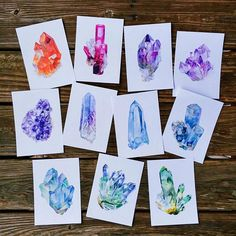 Rainbow Crystal Heaven Prepping and shooting a whole boat load of prints going up in the shop ASAP! @etsy #etsy #etsyshop #etsystore #artprints #art #printsforsale #artworkforsale #artforsale #crystals #crystalvisions #crystalcluster #crystalpoints #amethyst #quartz #flourite #fuschite #tourmaline #auraquartz #watercolor #watercolorpainting #painting #paintings #illustration #crystalpainting