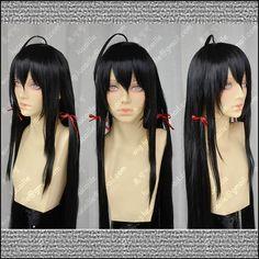 44.64$  Watch now - http://alipht.worldwells.pw/go.php?t=32463227328 - Cartoon My Teen Romantic Comedy Is Wrong Yukinoshita Yukino Cosplay Black Long Wigs Anime Cosplay Heat Resistant Hair Wigs