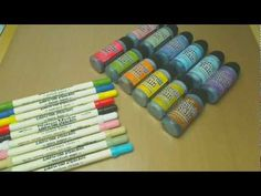 Tim Holtz Distress Markers and Distress Stains