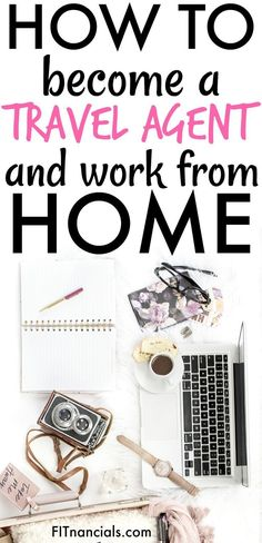 Find out how to become a travel agent and work from home. This is a great list for anyone who loves to travel and wants to work at home! how to find a job Ways To Save Money, How To Make Money, How To Become, Money Tips, Work From Home Jobs, Make Money From Home, Make Money Blogging, Make Money Online, Blogging Ideas