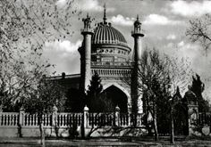 The Mashriqu'l-Adhkár of Ishqabad, there were several other buildings and schools on the property.