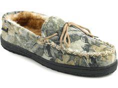 Old Friend Camouflage Moc - Men's Sheepskin Slipper.... for the Duck Dynasty fans. $79.95