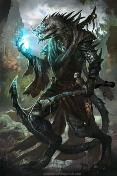 GOROD von mlappas - Fantasy world and story - Animals Fantasy Races, Fantasy Warrior, Fantasy Rpg, Medieval Fantasy, Dark Fantasy Art, Fantasy Artwork, Fantasy World, Warrior Angel, Dungeons And Dragons Characters