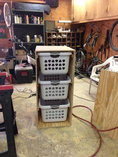 Wilker Do's: DIY Laundry Basket Holder