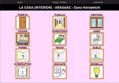 TABLERO DE COMUNICACIÓN PARA ARABOARD - Elementos interiores de la casa.    Tablero de comunicación para el comunicador AraBoard de 3x4 celdas para trabajar el vocabulario referido a elementos interiores de la casa.    http://arasaac.org/materiales.php?id_material=771    Descargar AraBoard versión PC:    http://giga.cps.unizar.es/affectivelab/araboard.html    Descargar AraBoard versión Android desde Google Play.