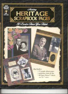 Book Review: Making Heritage Scrapbook Pages