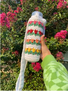 Tulip Water Bottle Holder | Crochet pattern