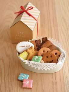 「SAC about cookies」の「ありがとうクッキーセット」