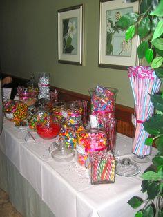 Wedding Favors- A Candy Bar, fill a bag