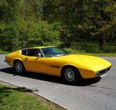 Classic Car News Pics And Videos From Around The World Maserati Sports Car, Maserati Car, Maserati Ghibli, Exotic Sports Cars, Classic Sports Cars, Classic Cars, Automobile, Design Retro, Engin