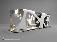 Exhibition stand on Behance - Office creations - Opzet Exhibition Stall Design, Exhibition Display, Exhibition Space, Museum Exhibition, Exhibition Stands, Exhibit Design, Design Display, Kiosk Design, Retail Design