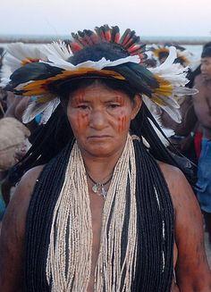 Mato Grosso region of Brazil | Rikbaktsa woman at Brazil's Indigenous Games | © Agência Brasil