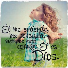 Gracias Dios por siempre cuidar de mi y protegerme de las cosas que desconozco.