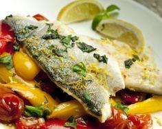 Roasted sea bass recipe: Recipes: Good Food Channel