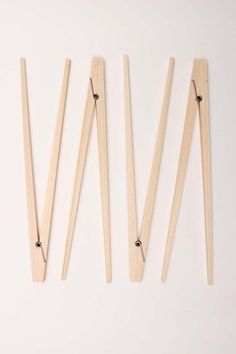 Clothespin inspired art for the laundry room