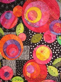 Closeup detail on Quilt | From the 2009 Cathedral Flower Fes… | Flickr