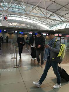 En el aeropuerto Incheon rumbo a Shanghai