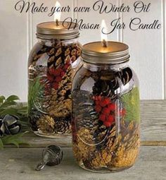 oil candles (36 pieces)