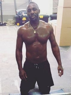 Idris Elba Shows Off http://stylenews.peoplestylewatch.com/2014/10/09/idris-elba-shirtless-video-instagram/...HOLY MOTHER OF DELICIOUSNESS!!