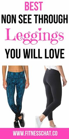 c1f395d93fb92 10 Best Non See Through Workout Leggings of 2019