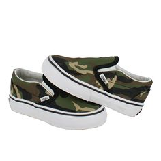 vans toddler slip on shoes camo - Google Search