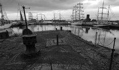 Old docks.. and tall ships in Liverpool