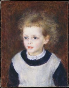 Auguste Renoir, (French, 1841–1919). Marguerite-Thérèse (Margot) Berard (1874–1956), 1879. The Metropolitan Museum of Art, New York. Bequest of Stephen C. Clark, 1960 (61.101.15) #kids