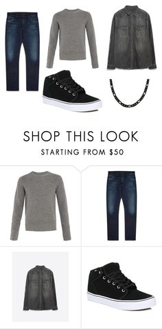 """""""Men casual"""" by reginamillan on Polyvore featuring Peter Werth, Citizens of Humanity, Zara and Vans"""