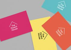 New Logo and Identity for The Parent House by Brand Union