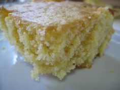 ** Sweet corn bread: 1 yellow cake mix, 2 Jiffy corn bread mixes, ingredients from all 3 boxes. STIR BY HAND, spray pan first. 375 degrees, pan for 45 minutes.pan will be full before and tall after baking. Jiffy Cornbread Mix, Sweet Cornbread, Cornbread Recipes, Biscuits, Corn Cakes, Brunch, Yummy Food, Tasty, Sweet Bread