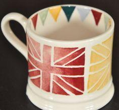Emma Bridgewater Polka Dot - Polka Flags baby mug (sample)